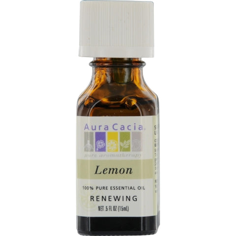 ESSENTIAL OILS AURA CACIA by Aura Cacia LEMON-ESSENTIAL OIL .5 OZ