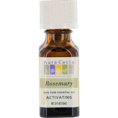 ESSENTIAL OILS AURA CACIA by Aura Cacia ROSEMARY-ESSENTIAL OIL .5 OZ