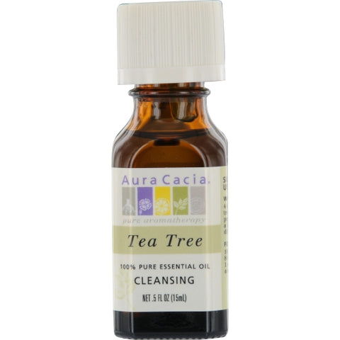 ESSENTIAL OILS AURA CACIA by Aura Cacia TEA TREE-ESSENTIAL OIL .5 OZ