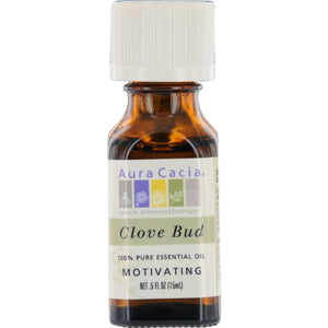 ESSENTIAL OILS AURA CACIA by Aura Cacia CLOVE BUD-ESSENTIAL OIL .5 OZ
