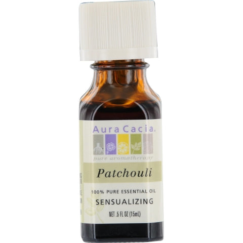 ESSENTIAL OILS AURA CACIA by Aura Cacia PATCHOULI-ESSENTIAL OIL .5 OZ