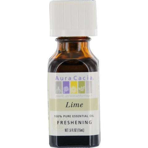 ESSENTIAL OILS AURA CACIA by Aura Cacia LIME-ESSENTIAL OIL .5 OZ
