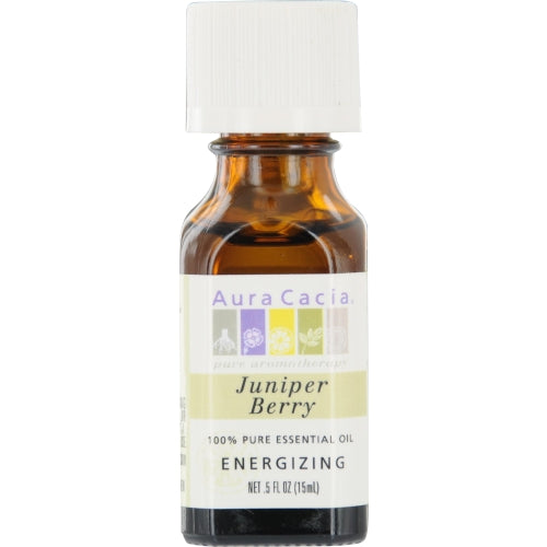 ESSENTIAL OILS AURA CACIA by Aura Cacia JUNIPER BERRY-ESSENTIAL OIL .5 OZ