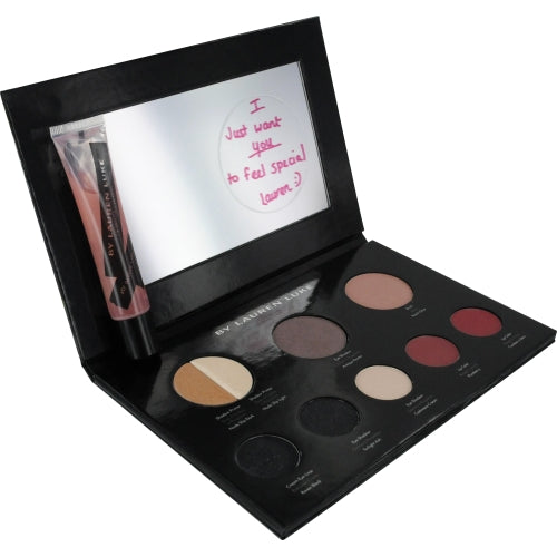 Lauren Luke by Lauren Luke My Smokey Classics-Complete Makeup Pallet- Includes 2 Shadow Primers, 3 Eye Shadows, Eye Liner, Blush, 2 Lip Colors, Lip Gloss