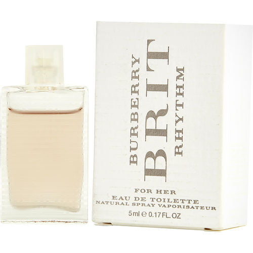 BURBERRY BRIT RHYTHM by Burberry EDT .17 OZ MINI