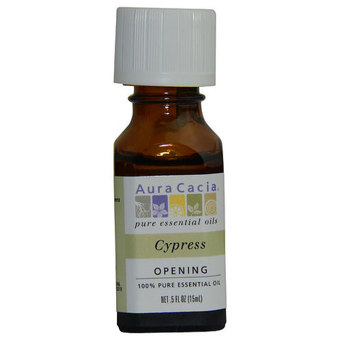 ESSENTIAL OILS AURA CACIA by Aura Cacia CYPRESS-ESSENTIAL OIL .5 OZ
