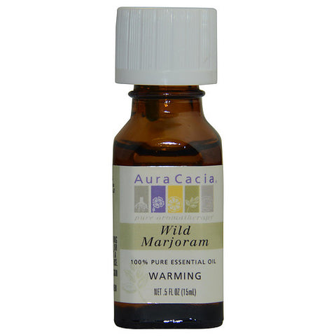 ESSENTIAL OILS AURA CACIA by Aura Cacia WILD MARJORAM-ESSENTIAL OIL .5 OZ