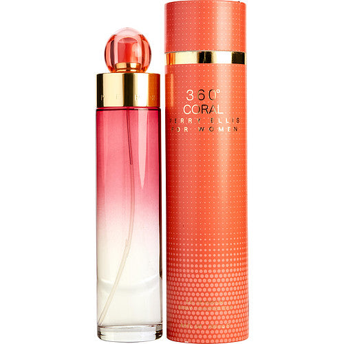 PERRY ELLIS 360 CORAL by Perry Ellis EAU DE PARFUM SPRAY 6.8 OZ