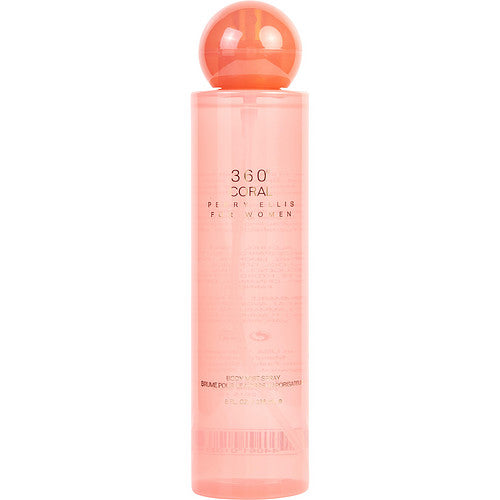 PERRY ELLIS 360 CORAL by Perry Ellis BODY MIST 8 OZ