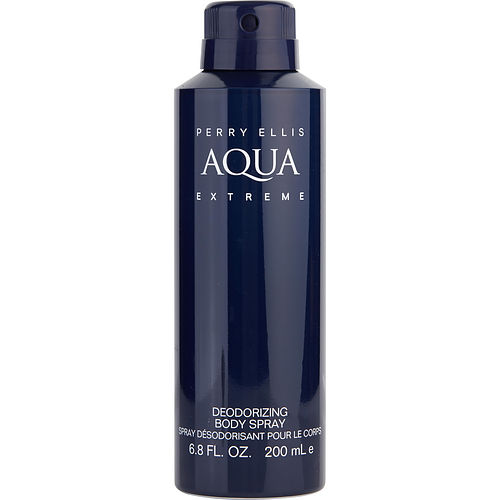 PERRY ELLIS AQUA EXTREME by Perry Ellis BODY SPRAY 6.8 OZ
