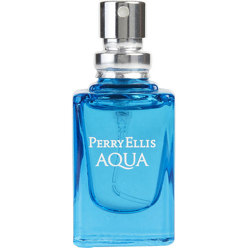 PERRY ELLIS AQUA by Perry Ellis EDT SPRAY .25 OZ MINI *TESTER