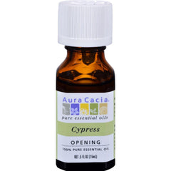 Aura Cacia - Cypress Essential Solutions Oil ( 2 - .5 FZ): Cypress Essential Solutions Oil