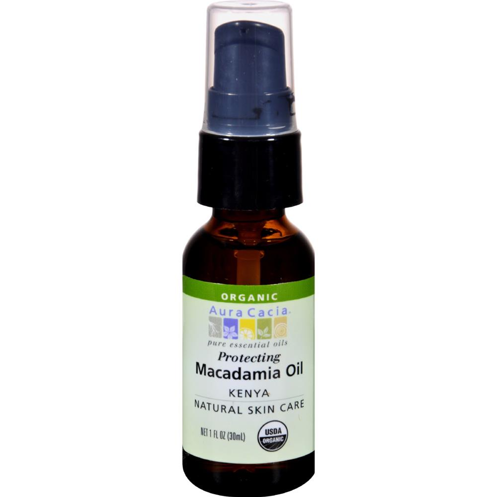 Aura Cacia - Macadamia Skin Care Oil ( 2 - 1 FZ): Macadamia Skin Care Oil