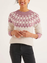 Load image into Gallery viewer, Alpaca Blend Crew Neck Sweater