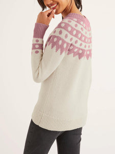 Alpaca Blend Crew Neck Sweater