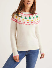 Load image into Gallery viewer, Alpaca Blend Festive Fairisle Sweater