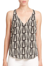 Load image into Gallery viewer, Sleeveless V-Neck Printed Tank