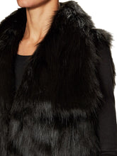 Load image into Gallery viewer, Faux Fur Wide Collar Vest