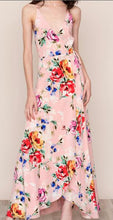 Load image into Gallery viewer, Sleeveless Self-Tie Waist Maxi Dress