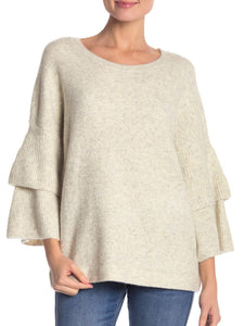 Layered Long Sleeve Relaxed Sweater