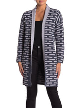 Load image into Gallery viewer, Long Sleeve Open Front Printed Cardigan