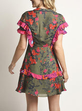 Load image into Gallery viewer, Aline Floral Mini Dress