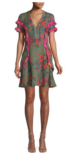 Aline Floral Mini Dress