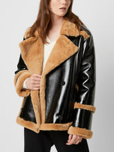 Load image into Gallery viewer, Faux Shearling Oversized Coat