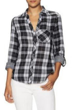 Load image into Gallery viewer, Plaid Button-Up Shirt