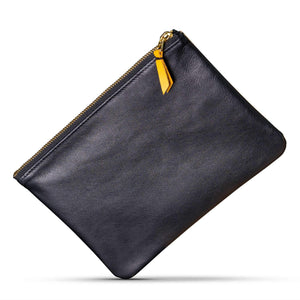 Certain Standard Leather Pouch - Tan/Black