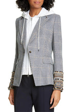 Load image into Gallery viewer, Embellished Cuff Blazer