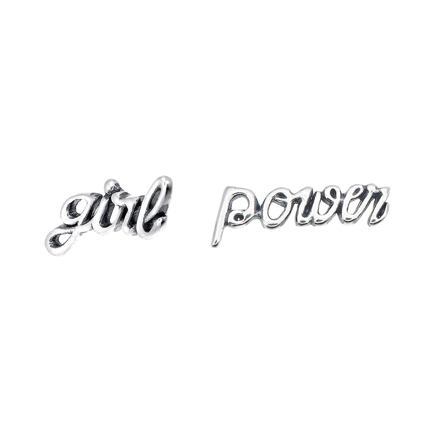 Girl Power Earring Studs