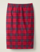Load image into Gallery viewer, Italian Wool Blend Pencil Skirt
