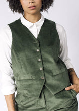 Load image into Gallery viewer, Tailored Fit Corduroy Vest