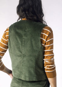Tailored Fit Corduroy Vest