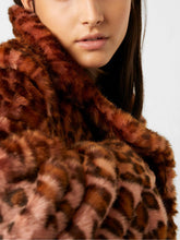 Load image into Gallery viewer, Faux Fur Long Coat