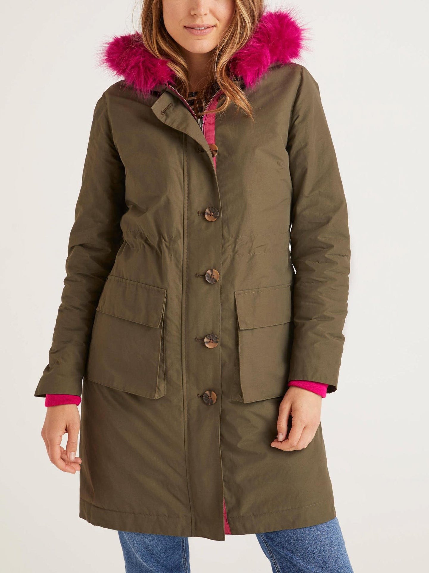 Water Resistant Hooded Parka