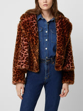 Load image into Gallery viewer, Cropped Faux Fur Coat