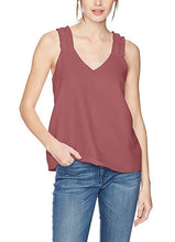 Load image into Gallery viewer, Sleeveless V-Neck Ruffle-Strap Blouse