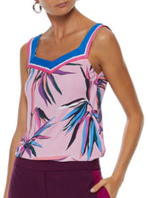 Load image into Gallery viewer, Colorful Bamboo Sweetheart Neck Top