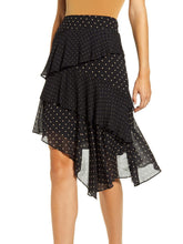 Load image into Gallery viewer, Asymmetric Hem Ruffle Skirt
