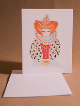 "Load image into Gallery viewer, ""Queen"" Card"