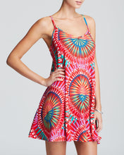 Load image into Gallery viewer, Spaghetti Strap Printed Shift Dress