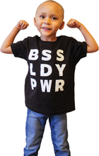 Load image into Gallery viewer, BSS LDY PWR Kids Tee