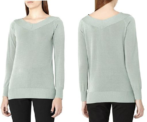 Reiss Off Shoulder Sweater