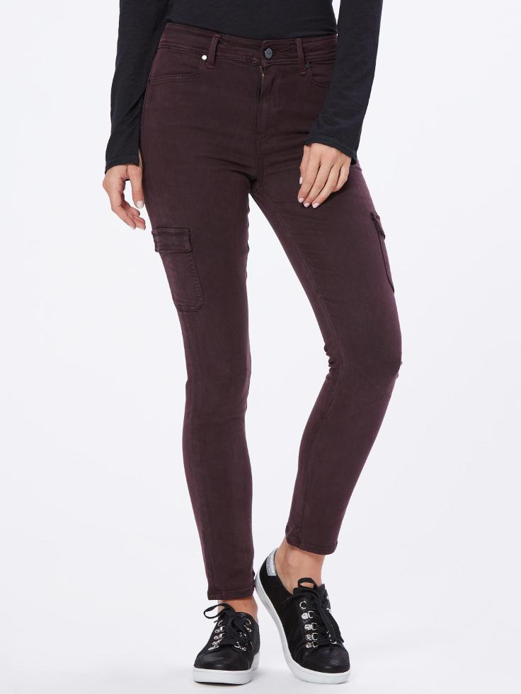 Stretchy Skinny Cargo Pants