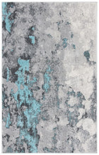 Load image into Gallery viewer, Safavieh Adirondack Contemporary Turquoise & Gray Rug