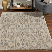Load image into Gallery viewer, Dalyn Aero Silver & Taupe Rug