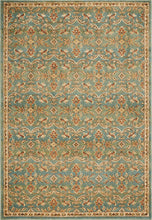 Load image into Gallery viewer, KAS Cordoba Oriental Turquoise Rug