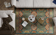 Load image into Gallery viewer, KAS Cordoba Moroccan Teal Marrakesh Rug